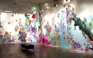 <p>Liquid Landscape Environment Installation</p>