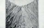 <p>Pacific Rim, 2012 / Drypoint / 4 x 4 inches</p>