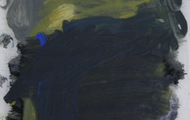 """<p><em>Quotidian 6</em><br />Oil on tracing paper<br />Approx 14"""" x 11""""<br />2012</p>"""