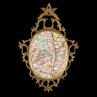 <p>My map is my mirror - 'Home I'</p> <p>2014</p> <p>digital print</p> <p>edition of 3 + 1 A/P</p>