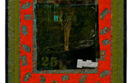 """<p><strong>SWAMP 25 SHUFFLE  </strong>2005-07  25"""" x 20""""</p>"""