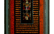 """<p><strong>BLIND DRUM</strong>  1990  48"""" x 30"""" </p>"""