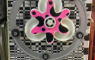<p>Poka-dotted Bike Gear, 2012</p>