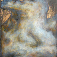 "<p style=""text-align: center;"">There Go the Clouds Passing up Uncertainties (Gold Cloud)</p>