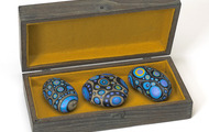 <p><em>Rock Box</em>, 1970, Wood, acrylic & stones, 5.5 X 11.5 X 3 inches.</p>