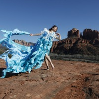 <p>Phography: Mark Short   © 2015 www.photograpfx.com    Model: Harmondb     All Rivers Dress: Katharine Leigh Simpson     Location: Sedona</p>