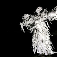 "<p>The White Hawk paper costume &nbsp; &nbsp; Spirit Dance performed by Katharine Leigh Simpson &nbsp; &nbsp; ""From the Ashes- She Arose""&nbsp; &nbsp; &nbsp;Collaboration with Mark Hughes &nbsp; &nbsp; Photography: Julie Huffman &copy; 2015 &nbsp; &nbsp;&nbsp;juliehuffman.com</p>"