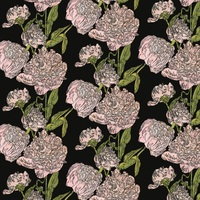 <p>'peony study 25' Bespoke wallpaper printed from hand-drawn and painted original proofs. 2014-15.</p>