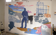 <p>Work in progress, The Studios at MASS MoCA</p>