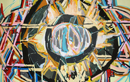 <p><em>dying star (hexagram of solomon), </em>2016</p>
