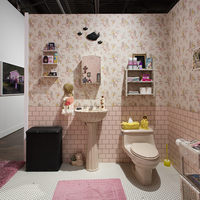 <p><em>Smell the Roses</em>, 2016, California African American Museum, Los Angeles, CA, Installation view</p>
