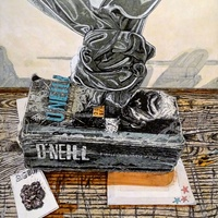 "<p style=""text-align: center;"">Still life with objects of fantasy 2</p>