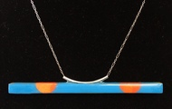 <p>teeter totter necklace</p>