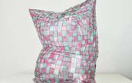 "<p>Green and Pink Pillow &nbsp;&nbsp; perspex &nbsp; &nbsp; 2018 &nbsp; &nbsp; 21 x 20 x 14""</p>"
