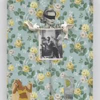 <p>Genevieve Gaignard<br /><em><span>Goddamn&mdash;Refreshing, 2019</span>&nbsp;</em><br />Mixed Media on Panel<br />40 x 30 x 2.5 inches</p>