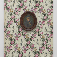 <p>Genevieve Gaignard<br /><em>Beloved, 2019&nbsp;</em><br />Mixed Media on Panel<br />40 x 30 x 2.5 inches</p>