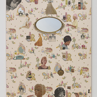 <p>Genevieve Gaignard<br /><em><span>I'm Sorry I Never Told You That You're Beautiful, 2019</span>&nbsp;</em><br />Mixed Media on Panel<br />60 x 48 x 2.5 inches</p>
