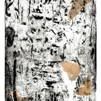 """<p style=""""text-align: center;"""">Remnants</p> <p style=""""text-align: center;"""">7&rdquo;by5&rdquo; drypoint plate on 9&rdquo;by7&rdquo; paper, with chine-coll&eacute;, tapes and staples.</p> <p style=""""text-align: center;"""">Print 6 of 7 in a varied edition.</p> <p style=""""text-align: center;"""">2020</p> <p style=""""text-align: center;"""">Ink, paper, tape on 11&rdquo;by8.5&rdquo; paper.</p> <p style=""""text-align: center;"""">&nbsp;</p> <p style=""""text-align: center;"""">A printed work produced in collaboration with Sara-Jeanne Bourget and Mark Johnsen of <a href=""""https://www.patiopress.ca/"""">https://www.patiopress.ca/</a></p>"""